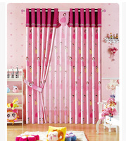 Free shipping design tulle curtain blackout curtains decorations for bedroom window kids curtains roman blinds