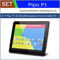 Pipo P1 3G Pipo P1 Wifi 9.7 2048*1536 2GB/32BG Dual Camera BT GPS RK3288 Cortex A17 1.8GHz Quad Core Tablet PC