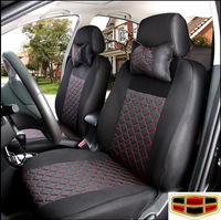 """LBS 10 PCS """"Geely emgrand"""" 7 Seat Cover For EC7 EC8 EC9 Emulation silk + sandwiches seat car cover"""