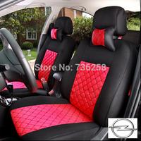 LBS 10 PCS OPEL Astra Zafira Vectra Antara Agila Mokka Insignia Emulation silk + sandwiches seat car cover