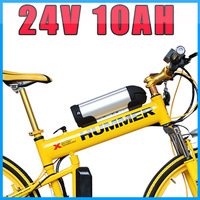 24V 10AH  Water Kettle Electric Bicycle Lithium Battery ,with BMS  Chargrer  Free Shipping Ebike Battery