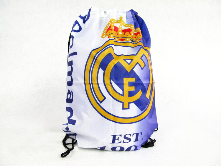 Free Shipping Fashion Real Madrid Backpack Bag Shoe Bag Sport Soccer Team Real Madrid Backpacks Football Fans Souvenir(China (Mainland))