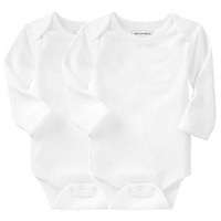 Brand Mom Love Baby 1 lot (2 pieces) long sleeve cotton baby rompers baby clothing