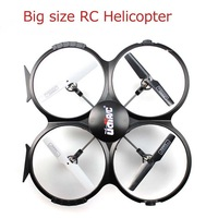 Big size RC Helicopter  2.4G RChelicopter  4CH 6 Axis Remote Control Quadcopter  UFO  aircraft  Free drop shipping