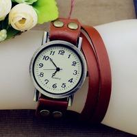 2014 Hot! New Listing Korean Fashion Simple Cross Inlaid Rhinestones Long Leather Quartz Watches Women Dress Watch