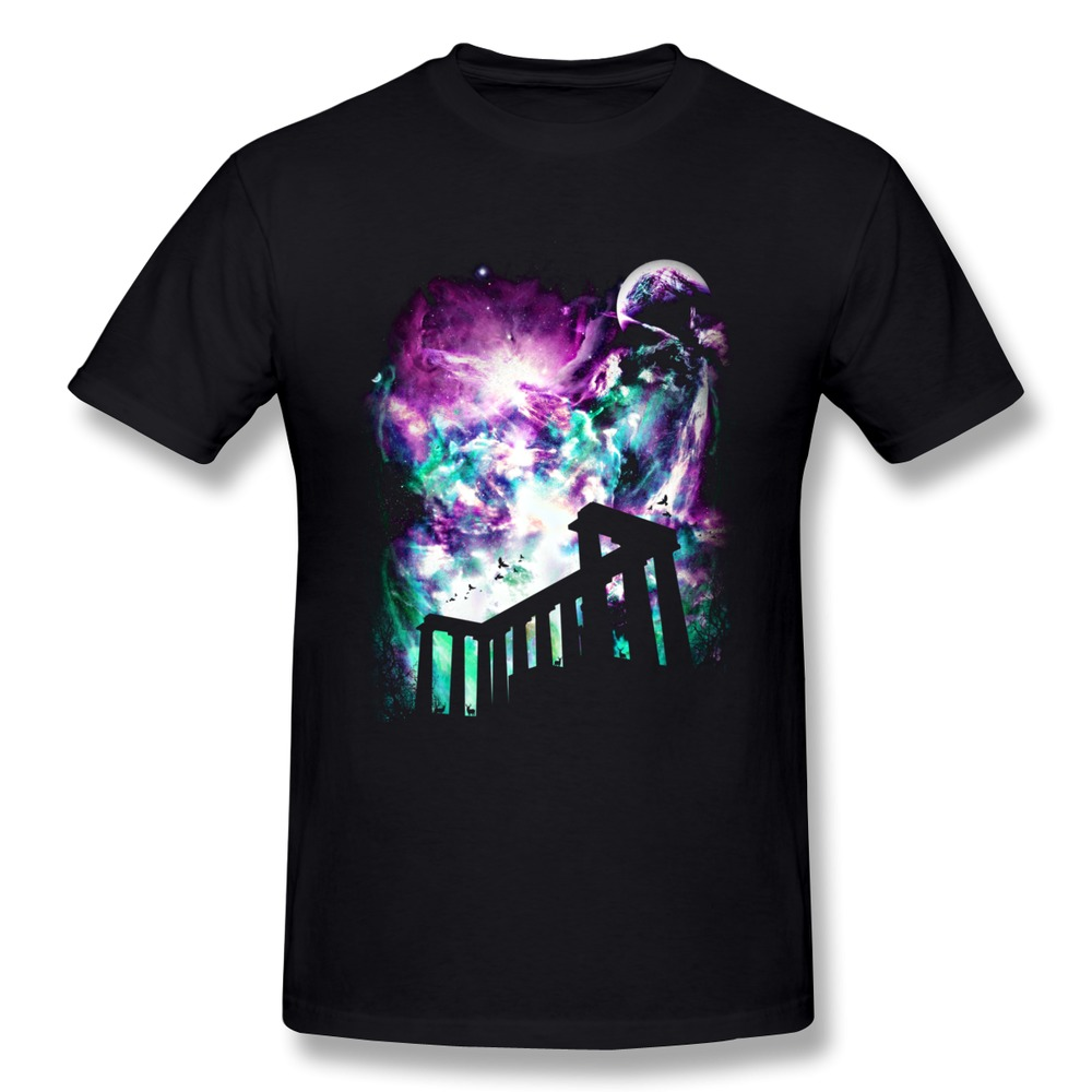 O-Neck T Shirt Boy Night of the Colorful Light Geek Text Men T Shirts(China (Mainland))