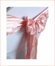 10 шт. 108 » x 6 » румяна розовый высокое качество атласная стул пояса луки обертывания ленты свадьба ну вечеринку банкет украшения 120 цветов
