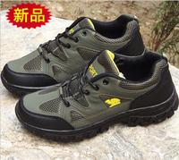 Factory Direct Summer Explosion Models Breathable Mesh Men'S Hiking Shoes, Men'S Shoes Soft Wholesale Foot Soles
