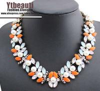 [Mix 15USD] Wholesale jc brand jewelry Luxury Lazurite Leaves Lariat Chocker Rhinestone Necklace Fashion womens Evening Dress