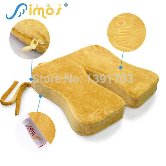 Aimos Woman Zero Pressure Memory Foam Seat Cushion Ms Decompression Memory Foam Cushion(China (Mainland))