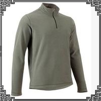 2014 new high quality men's fleece jacket windproof winter outdoor sports jacket 6 portable green color S-3XL