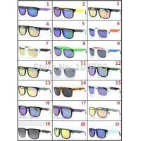 Hot retail! 2014 new fashion colors sunglasses men cycling eyewear fishing steampunk cool man sports glasses