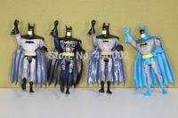 """DC Universe JLU Justice League Unlimited Batman 5"""" Loose Action Figures Toys 4pcs/set"""