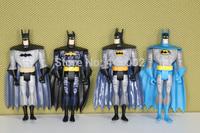 """20sets DC Universe JLU Justice League Unlimited Batman 5"""" Loose Action Figures Toys 4pcs/set"""