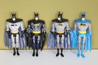 """40sets DC Universe JLU Justice League Unlimited Batman 5"""" Loose Action Figures Toys 4pcs/set"""