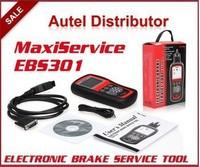 Original Autel MaxiService EBS301 Electronic Brake Service Tool OBDII/EOBD Brakes Setting Scanner Update Via Internet