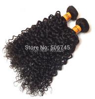 Wholesale---3pcs/lot Top Quality 6A  Human Hair Indian Loose Wave Beautiful Virgin Hair Free Shipping.