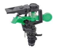 """Free Shipping. 50pcs/lot G1/2"""" dn15 plastic radial head plastic rotating lawn garden water sprinklers nozzle"""