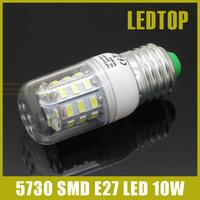 1pcs lampada led lamp E27 220V 10w cree smd 5730 30 led corn light bulb LED Bulbs & Tubes