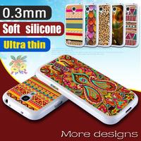 Uitra Thin Case For Samsung Galaxy S4 Mini Silicone Cover I9190 Housing Rubber S 4 Mini Soft New White