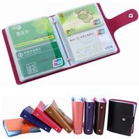New Arrival, High Quality 40 / 60 slot Men Business Card Holder wallet bank credit card case ID card bag,Women shield card packs