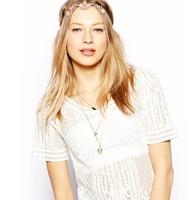 European foreign trade pink  jewelry Hairbands hairwear