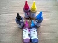 Universal 100MLx 6pcs Premium dye Sublimation ink for Epson 1280/1400/1430,P50,T50,R810,R800,T0981,XP750,XP850,T0811N printer