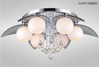 2014 Modern Minimalist LED Ceiling /Living Room Lights/Bedroom Restaurant  Crystal Lighting Fixtures Fashion Lamps ds-066