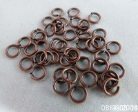 hjyurFx2097WHOLESALE!! Bulk 2000piece 6mm( 0.7THICK) antique copper color jump rings for Jewelry DIY free shipping