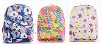 "Wholesale 2014 Popular Flower Designer Girls Student School Bag Kids Women Campus 14"" Laptop stylish backpacks Rucksack bagpack"