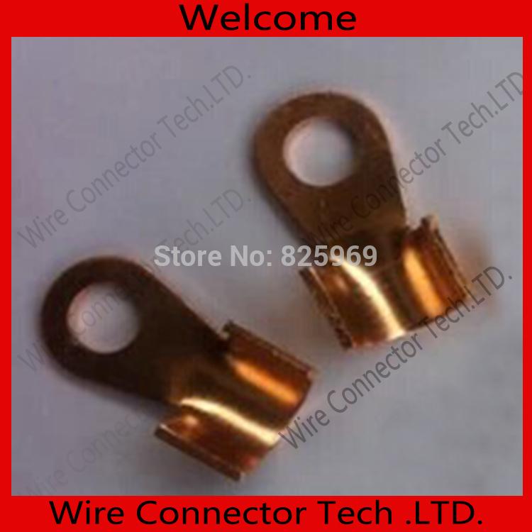 50 pcs/lot 10.2MM OT-250A Copper Blade terminal,250A battery terminal for car E-bike etc.Large Current earth terminal(China (Mainland))