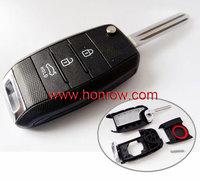 Hot new retail products KIA 3 button remote key blank,kia remote key case with free shipping free