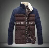 2014 winter jacket men casual jacket warm man cotton coat clothing brand thickening coat  winter coat sales outwear  down coat