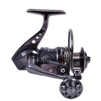 Hk6000 14 Shaft High Power Gear Spool Metal Fishing Reels Round  Pole Lure Wheel Fish Reel Spinning Wheel Sea Reel