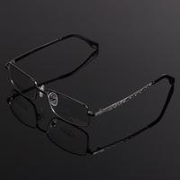 2014 New Sale Solid Men Eyeglass Frames Oculos De Grau Femininos , Mirror Metal Glasses Frame Reading Myopia Eyeglasses Steel