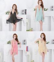 Sexy Women's Lingerie Lace Dress Underwear Babydoll Sleepwear+G-string 4 Colours