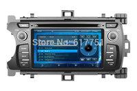 7'' HD Car DVD Player for Toyota yaris,AutoRadio,Headunit,GPS,Navi,Multimedia,Radio,Ipod,Free shipping+Free map