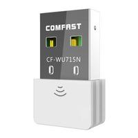 USB wifi Wireless Adapter 2.0 802.11n/g/b 2.4GHZ 150Mbps Wi-Fi/WLAN nano mini computer USB Lan WI FI Adaptador CF-WU715N