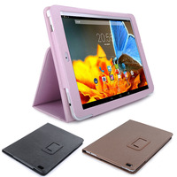 2014 New 3Colors 9.7 inch Cube Talk 9x U65GT Stand PU Leather Case Cover for Cube U65GT tablet pc free shipping 26FPB0210#S5