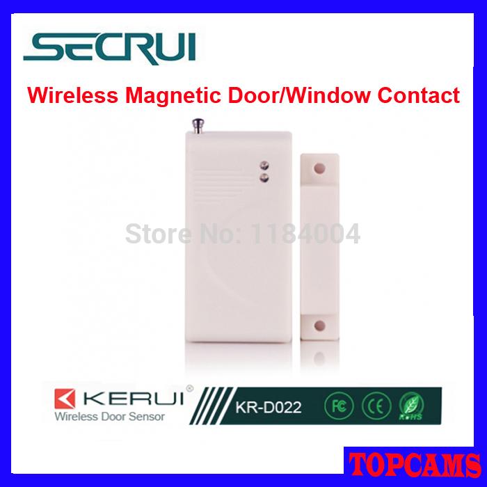 Secrui Wireless Magnetic Infrared Door Sensor (KR-D022) wireless door sensor/window sensor for home alarm systems(China (Mainland))