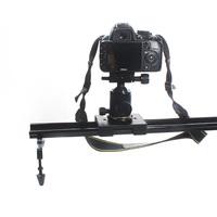 """New Commlite 60cm / 24"""" Sliding-pad Adjustable Video Camera Track Slider Dolly Stabilizer System for DSLR Camcorders"""