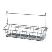 1 piece Pigmented epoxy powder coating steel kitchen storage wire basket