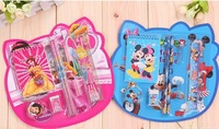 Wholesale & Retail /School Stationery Supplies /Stationery 5pc Set Packing /Combination of Stationery/ Cartoon Pattern /Hotsale