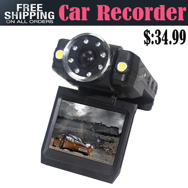 Free Shipping Universal Carcam HD 1080P 2.0 TFT LCD G-Sensor Night Vision Car DVR Camcorder Vehicle Dash Camera Loop Recorder(China (Mainland))