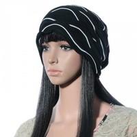 Wholesale 10pcs 2014 Novelty Womens Oversized Cotton Skullies Beanies Hats Ladies Baggy Caps Women Beanie Lady Spring Skullcap