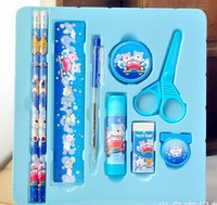Wholesale & Retail /School Stationery Supplies /Stationery 8pc Set Packing /Combination of Stationery/ Cartoon Pattern /Hotsale