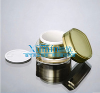 FV  50G gold eye square shape cream JAR,Cosmetic Jar,Cosmetic Packaging, COSMETIC CONTAINER