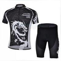 Bike Cycling Clothing Bicycle Wear Suit Short Sleeve Jersey + (Bib) Shorts S-3XL  CC1019
