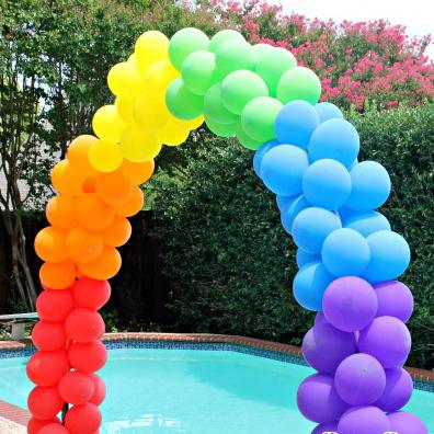 Popular gay wedding decorations buy popular gay wedding for Balloon decoration kits
