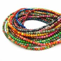 Stone Beads Natural Assorted Mix Size Semi precious Tourmaline Spacer Quartz Jade Bead for Men Jewelry Bracelet Making HB368